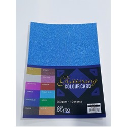 CR36639 A4 250gsmGlittering Colour Card