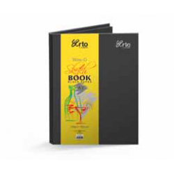 CR36105 Wire-O Hard Cover Black Sketch Book (A3+)