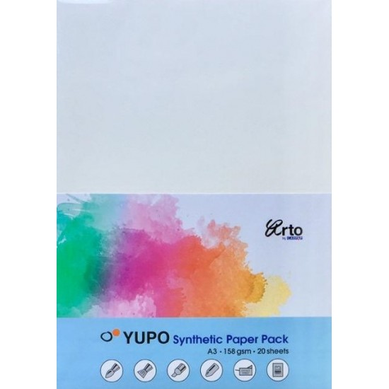 CR 37192 A3 158gsm Yupo Synthetic Paper