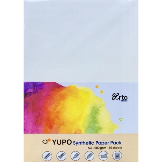 CR 37196 A3 200gsm Yupo Synthetic Paper
