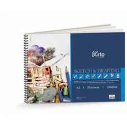 Wire-O Sketch & Drawing Book CR36190 (A3)