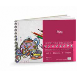 Wire-O Sketch & Drawing Book CR 36194 (A4)