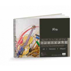 Wire-O Sketch & Drawing Book CR 36196 (A3)
