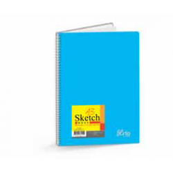 Wire-O PP Cover Sketch Book (Perforated) A3