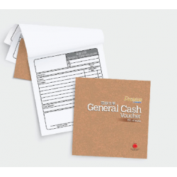 CA 3821 General Cash Voucher (English, Chinese)