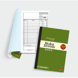 CA 3845 NCR Invoice Book (Malay, Chinese) Numbers