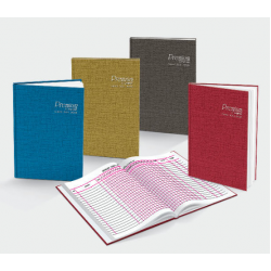 CA 70gsm F5 Hard Cover Check Roll Book