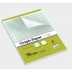 CA 4796 A4 30's Graph Paper (2mm Square & 7.5mm Ruled)