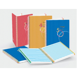 CA A5 Spiral Subject Note Book (Perforated)