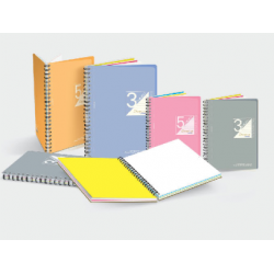 CA Wire-O Sandy PP Cover Subject Note Book (Perforated)