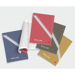 CA 18155 80pgs 90gsm Refill Pad (Side Bound)
