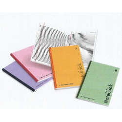 Layflat Notebook (Perforated)