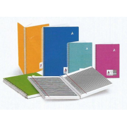 Plastic Spiral PP Cover Executive Notebook