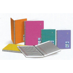 Wire-O PP Cover Executive Notebook (Perforated)