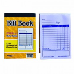 TS 7601 1 Ply Bill Book