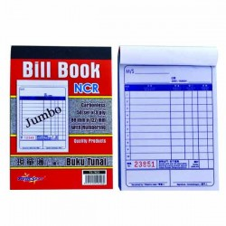 TS 7603 3 Ply NCR Bill Book