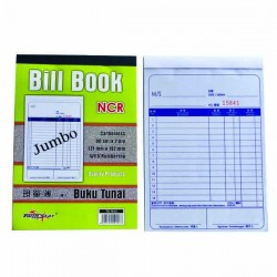 TS 7612 2Ply NCR Bill Book