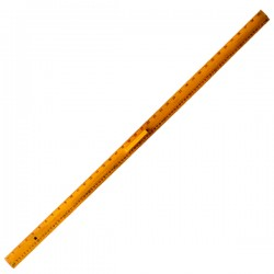 TS 104 Wooden Ruler with Handle